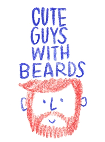 CuteGuysWithBeards