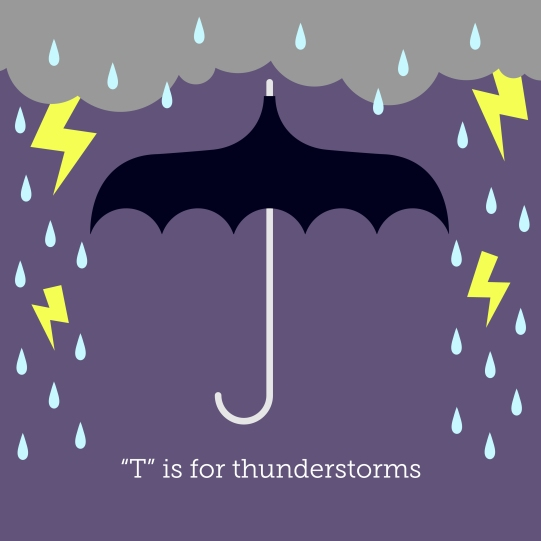 T is for Thunderstorms